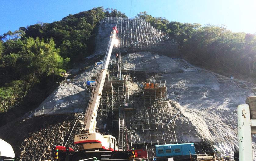 高知県ダム工事
