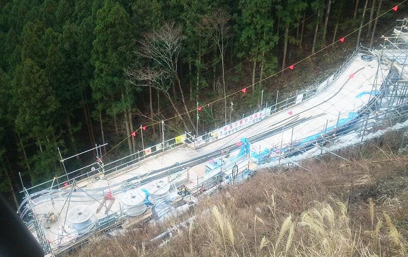 愛媛県新居浜市アンカー工事